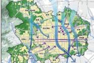 北京城市副中心初步规划两级多条通风廊道