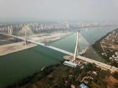 宜宾南溪长江公路大桥主桥顺利合龙