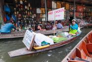 泰国丹嫩沙多水上市场