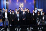 德甲联盟造访苏宁总部,PP体育演播中心获国际级点赞