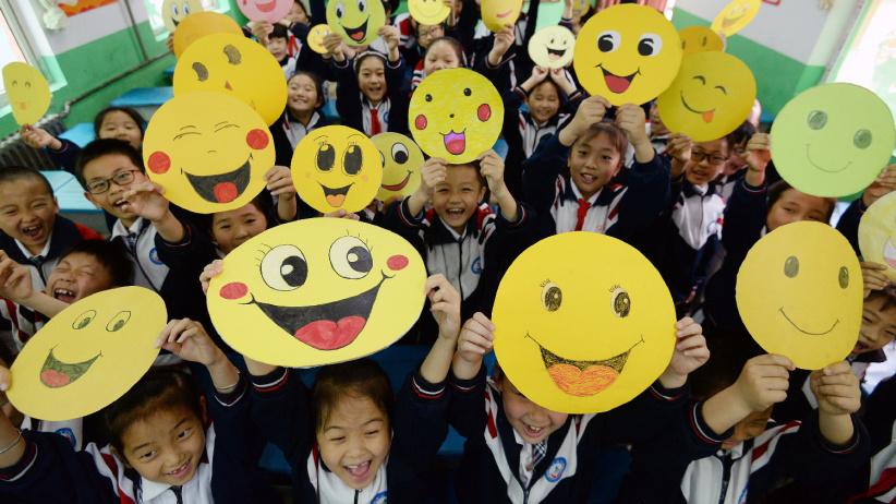 笑脸迎接世界微笑日