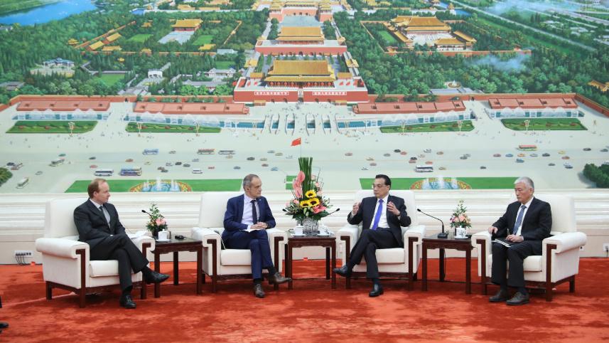 李克强:欢迎各国企业分享中国机遇