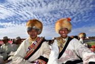 """藏北安多牧区的""""天线帽"""""""