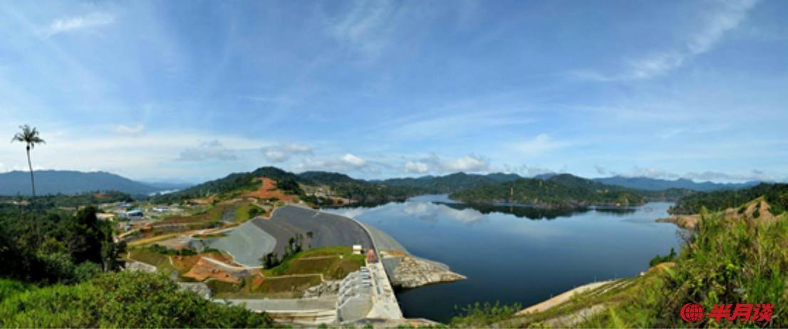 胡鲁丁加奴(Hulu Terengganu)水电站。(照片由中国电建提供)