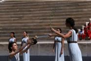 2020洛桑冬季青奥会圣火在雅典点燃