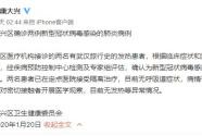 北京确诊两例新型冠状病毒感染的肺炎病例