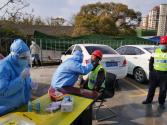 碧桂园江西区域:核酸检测进工地 安全复工复产