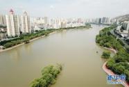 黄河兰州段20公里健身步道循环圈即将建成投用