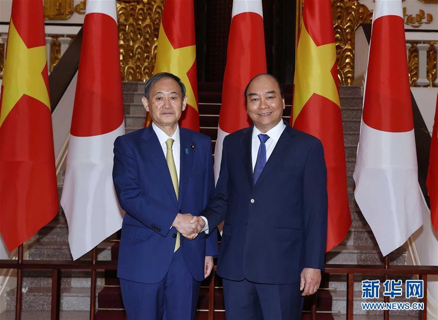 (国际)(3)日本首相访问越南