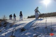 –35℃,他们踏雪巡逻守卫边关