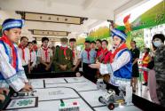 廣西新疆西藏三地少年兒童開展主題云隊會活動